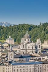 University Church (Kollegienkirche) at Salzburg, Austria