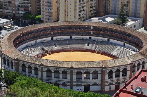 Foto op Canvas Stadion Stierkampfarena in Malaga, Spanien