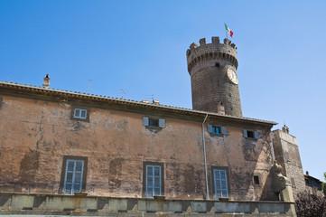 Palace of the Loggia. Bagnaia. Lazio. Italy.
