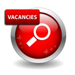 """VACANCIES"" Web Button (job offers careers seeking jobs search)"