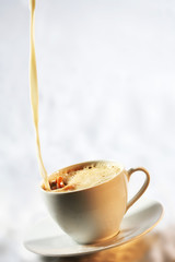 Kaffeetasse einschenken