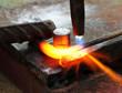 Gas heating cutting metal bending square bar
