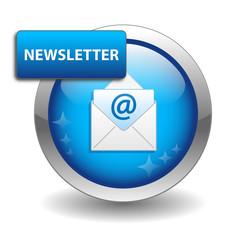 NEWSLETTER Web Button (customer services information marketing)