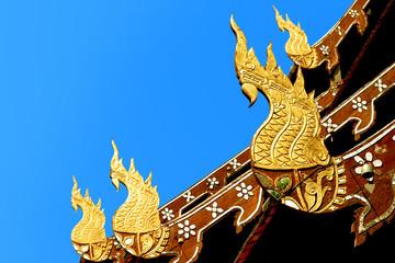 Ornament temple Sculpture Thailand