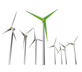 green wind energy powerful system