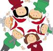 Weihnachtsfamilie