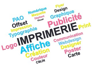 Imprimerie flyer logo couleur