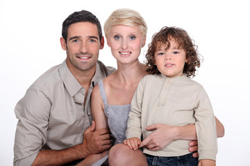 Young family