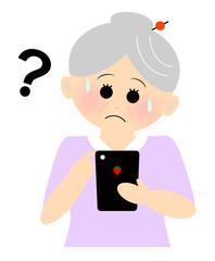 祖母 スマートフォン