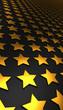 Sternen Matrix Hintergrund - gold schwarz 6