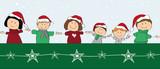 Fototapety Weihnachtsfamilie_2