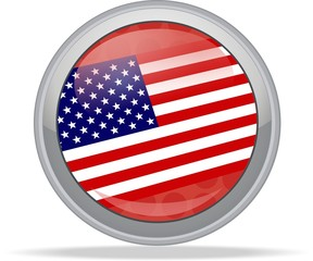 USA vote 2012 button