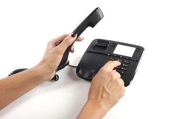 Comporre il numero con la mano
