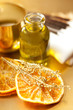 Orange essential oil for aromatherapy