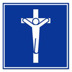 Cartel aeropuerto capilla
