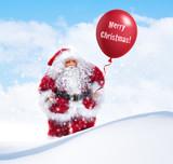 Nikolaus im Schnee
