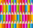 Rainbow pencils pattern