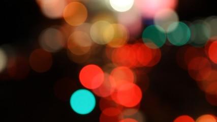 Lights on at night