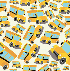School bus pattern