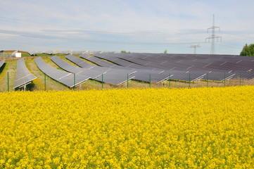 Solarpark in Thüringen