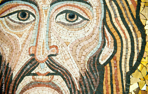 Mosaic: Christ's Face