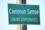 Common Sense Unincorporated poster