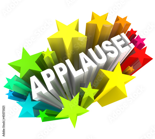 Applause Word Appreciation Ovation Approval Stars