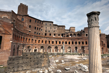 Trajan's Markets in Rome, Italy