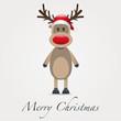 rudolph reindeer merry christmas