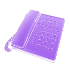 telephone purple