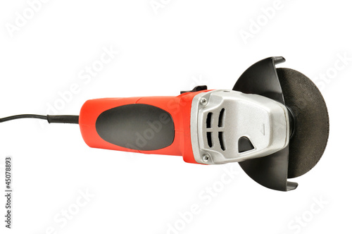 angle-grinder isolated on white background