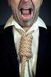 Businessman with Noose Tie