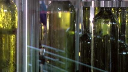 Wine bottling factory
