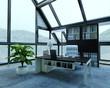 Mountain Loft / Apartment Architecture Interior