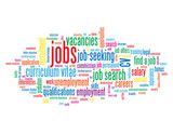 """JOBS"" Tag Cloud (cv recruitment employment vacancies careers)"