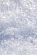 Schneekristalle (Hochformat)