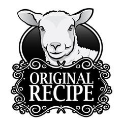 Original Recipe Lamb Royal Seal, Badge
