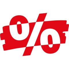 Prozent Wischer
