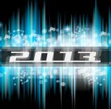 Hight Tech 2013 new year celebration poster