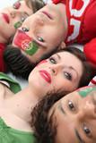 Passionate Portugal fans