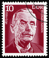Postage stamp GDR 1975 Thomas Mann, Writer