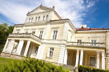 Raczynski palace in Zloty Potok