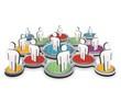 social network 3D concept