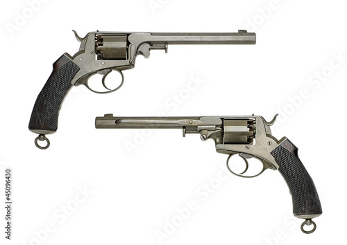 antiker deutscher Marinerevolver
