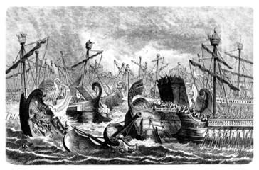 Antiquity - Naval Battle : Rome vs Carthage