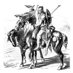 Antiquity : Gallic Horsemen