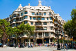 La Pedrera by the Catalan architect Antoni Gaudi. Barcelona. - 45099633