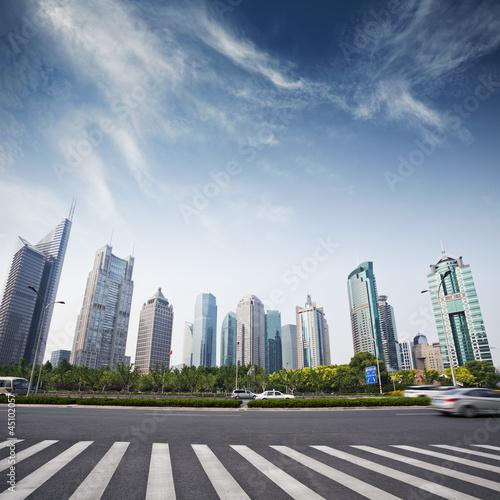 pejzaz-z-nowoczesnego-miasta-szanghaju