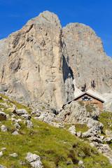 Dolomiti, Italia - Catinaccio - Rifugio Roda di Vael
