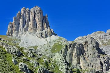 Dolomiti, Italia - Catinaccio Rosengarten Roda di Vael
